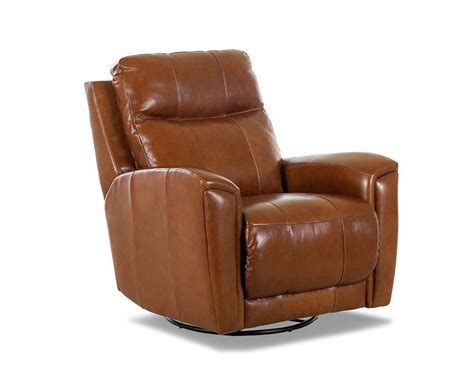 Usa Made Recliners by American Made Reclining Swivel Leather Chairs Clp103