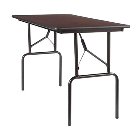 Office Depot Folding Table by Realspace Folding Table 4 Wide 29 H X 48 W X 24 D Light