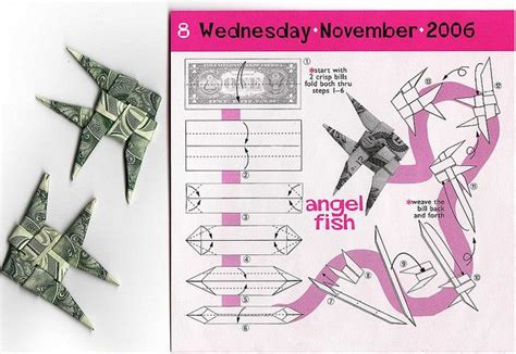 Origami Fish Money - origami fish origami