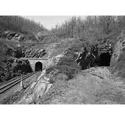 New And Old Blue Ridge Tunnelsjpg  Wikimedia Commons