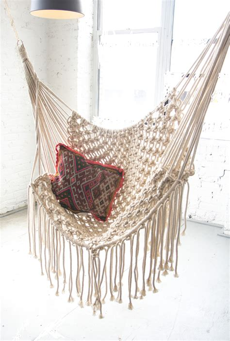 Macrame Hanging Chair Patterns » Home Design 2017