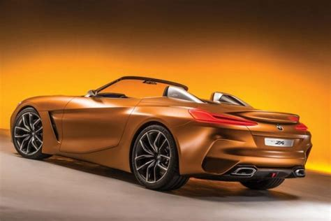 new bmw 2018 z4 2018 bmw z4 official teaser photo released news and rumors