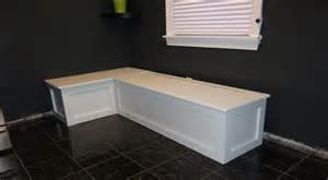 Build Banquette by Interior Design Kitchen Banquette