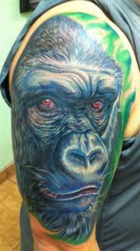 gorilla tattoos  designs gorilla tattoo meanings  ideas gorilla tattoo pictures hubpages