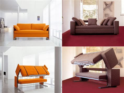 bunk bed with couch innovative multifunctional sofa by designer giulio manzoni