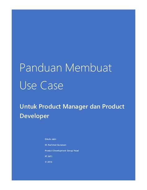 panduan membuat npwp online panduan membuat use case untuk product manager dan product