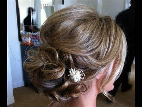 easy hairstyle for medium hair prom wedding hairstyle tutorial