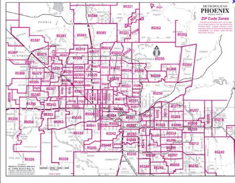 arizona zipcode map zip code look up