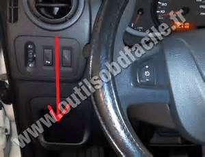Renault Master Obd Location Obd2 Connector Location In Renault Master 3 2010 2014