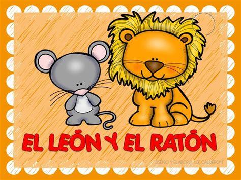leer libro minicuentos de leones y ratones para ir a dormir mini bedtime stories of lions and mice en linea para descargar f 225 bula el le 243 n y el rat 243 n 1 imagenes educativas