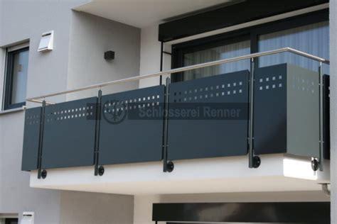 terrasse sichtschutz glas 1997 balkongel 228 nder schlosserei renner