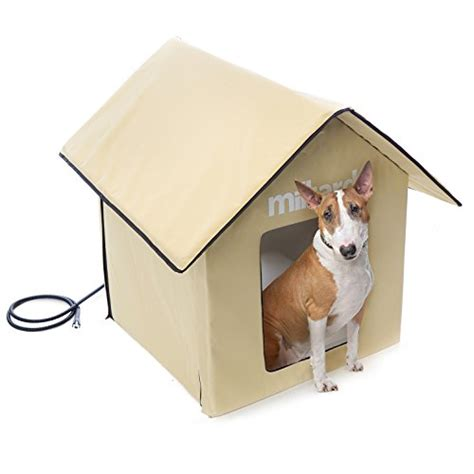 the house outdoor gear reviews milliard portable heated outdoor pet house 24in x24in