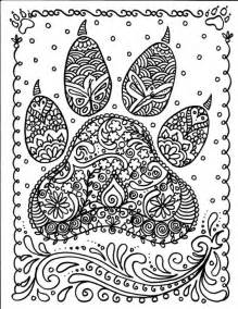 dog paw print coloring free coloring pages art coloring pages