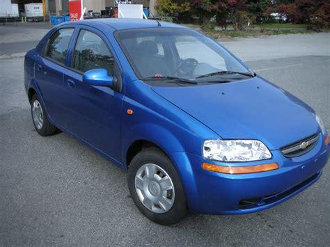 2004 Chevrolet Aveo 2004 chevrolet aveo sedan pictures information and