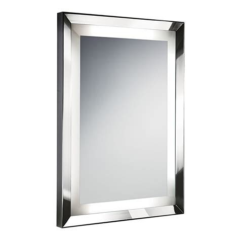 illuminated wall mirrors for bathroom chelsom bathroom illuminated wall mirror houseology