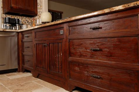 Teak Wood Kitchen Cabinets Reclaimed Teak Kitchen