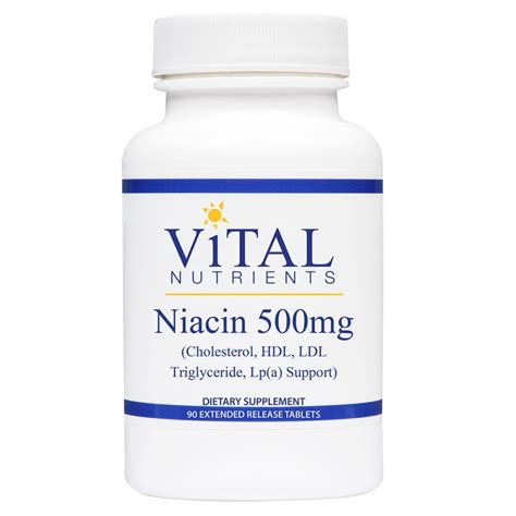 How Does Niacin Detox Take by Niacin 500mg Extended Release