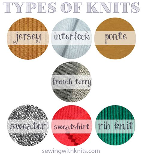 types of knit fabric start here