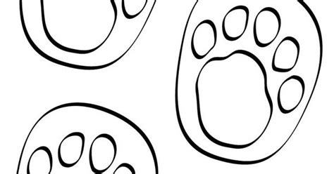 printable animal feet printable animal foot prints print on yellow paper