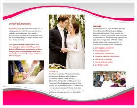 wedding brochure templates 16 wedding planner brochures free psd ai eps format