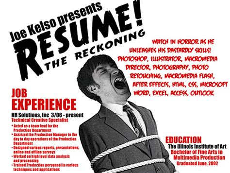 movie poster design jobs 13 insanely cool resumes that landed interviews at google