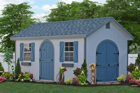wooden storage shed  md traditional shed