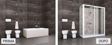 come trasformare la vasca da bagno in doccia trasformare la vasca in doccia tante idee e soluzioni per