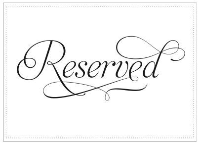 reserved seating clipart   cliparts  images  clipground