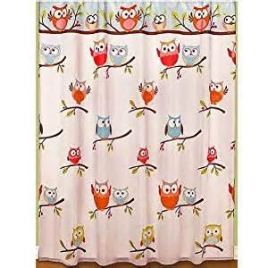 hooty owl bathroom set hooty owl fabric bathroom shower curtain 70