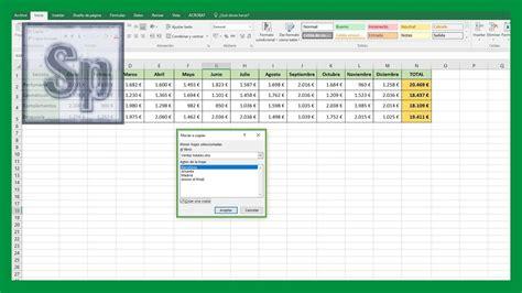 Tutorial Excel En Ipad | excel c 243 mo copiar o mover hoja de excel a otro libro