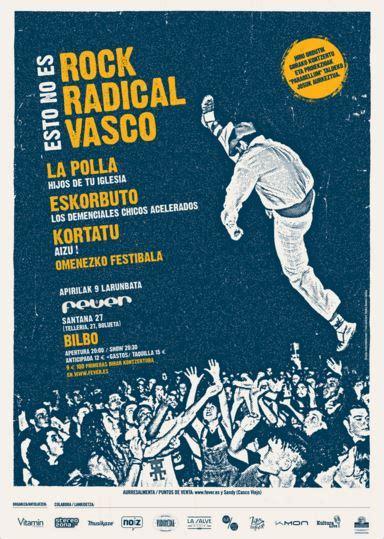 rock vasco esto no es rock radical vasco en bilbao el 9 de abril