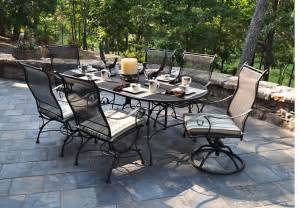 wrought iron patio tables 50 meadowcraft alexandria wrought iron patio