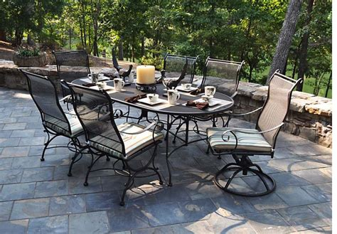 iron outdoor patio furniture 50 meadowcraft alexandria wrought iron patio