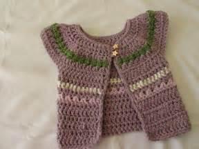 very easy chunky crochet baby s cardigan tutorial