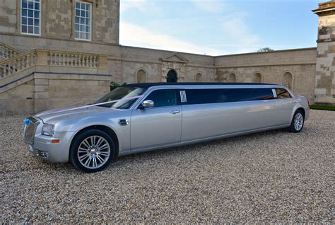 chrysler phantom silver chrysler phantom limousine hummer limo hire