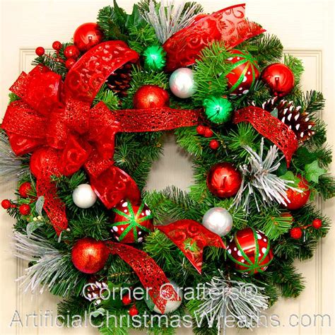 merry christmas wreath artificialchristmaswreaths com