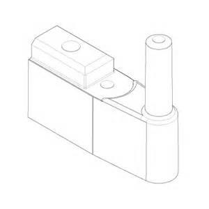 Shower Screen Door Parts Aqualux Spares Fittings Pack Hinges Fittings Sfp033