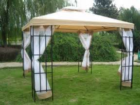 Patio Canopy Gazebo Tent 3 X 3m Patio Metal Gazebo Canopy Tent Pavilion Garden Outdoor Awning Marquee New Ebay