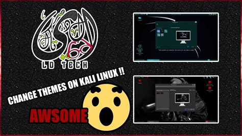 how to install themes kali linux how to manually install themes in kali linux versi on