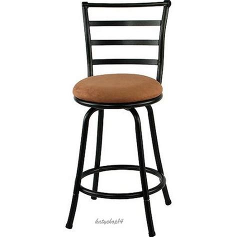 swivel counter stool bar stool 29 inch high chair black