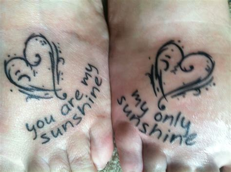 mother daughter tattoos quotess tats