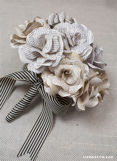 Pdf The Exquisite Book Of Paper Flowers Pdf by Vintage Book Page Flowers Lia Griffith