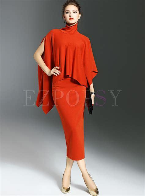 Fashion Orange fashion orange asymmetric two ezpopsy