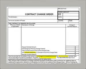contractor change order templates excel html autos post