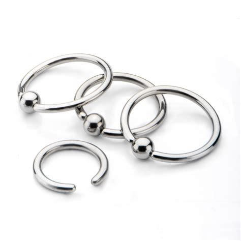 captive bead ring titanium captive bead rings invictus jewelry