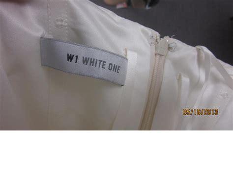 Whitening W1 white one w1 6212 469 size 12 new un altered