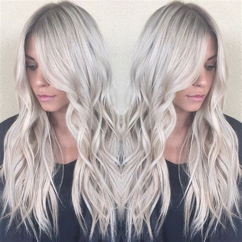 age for icy blonde hair balayage icy blonde