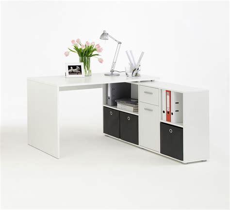 bureau d 騁ude bretagne bureau angle blanc avec rangements
