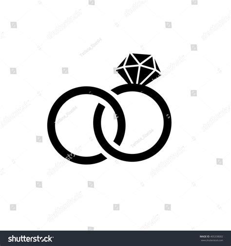 wedding ringsvector flat icon isolatedmodern simple stock vector 405338002 shutterstock