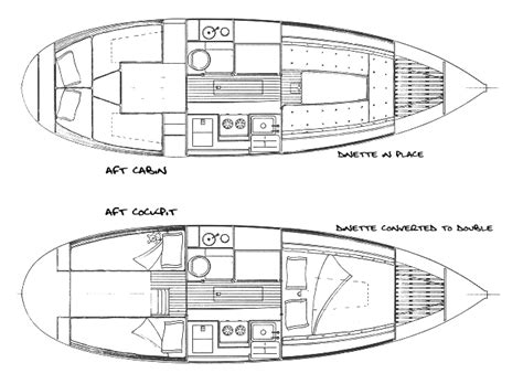 bluewater boat plans the nor sea 27 sailboat bluewaterboats org sailboats